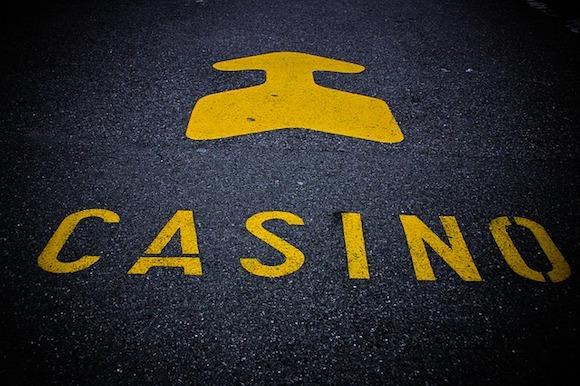 Seriöse Online Casino - Pfeil